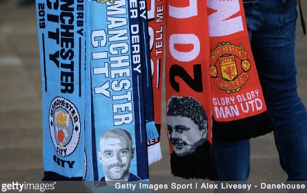 Torn loyalties ahead of Manchester derby