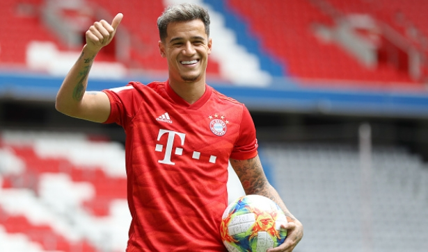 Coutinho completes loan move to Bayern Munich
