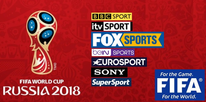 Country And Tv Channels Showing Fifa World Cup Matches