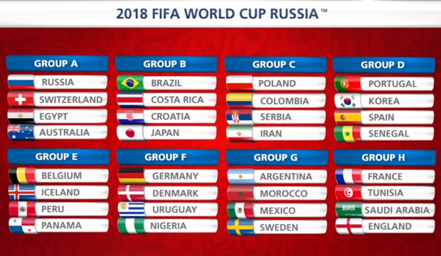 Image Result For Mundial Rusia Calendario